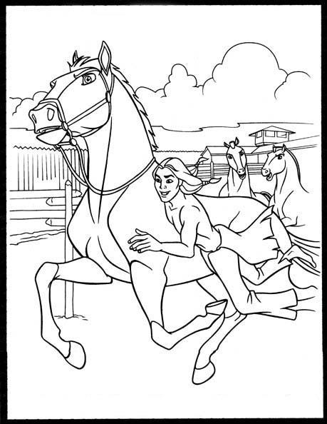 Spirit cavallo selvaggio for Immagini di cavalli da disegnare