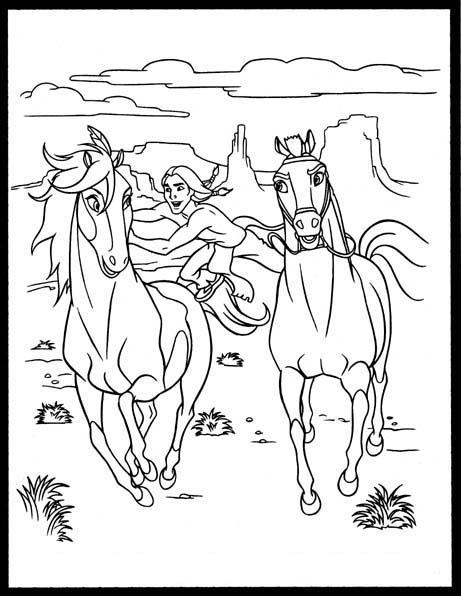 Spirit cavallo selvaggio for Immagini cavalli da disegnare